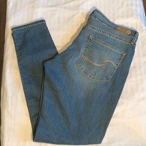 Levi's Signature Modern Skinny Distressed Jeans